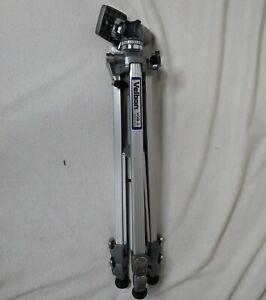 Velbon VGB-3C Photographer Aluminum Heavy Duty Tripod w/crank 3-Way Pan/Tilt