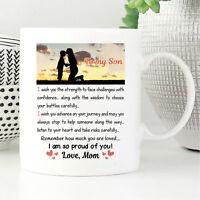 To My Son - Christmas Mother Son Gift Coffee Mug - 11oz Coffee Mug