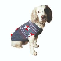Rosewood Cupid & Comet Christmas Festive Dog Jumpers, Fleeces, Bandanas, Bow Tie
