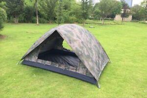 Camouflage 2 person double tent double door double tent single soldier outdoor