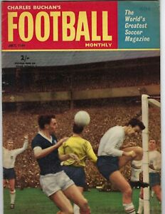 1964 JULY Charles Buchan's Football Monthly World's Greatest Soccer Magazine