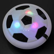Indoor Air Power Soccer Hover Football Luftkissen Fussball Leuchten Led Disc