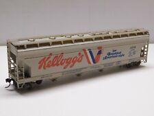 Ho Scale - Kellogg's Covered Hopper Train Car Acfb #523111