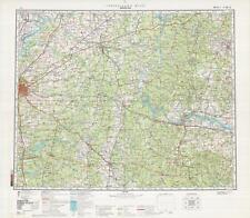 Russian Soviet Military Topographic Maps - JACKSON/ MEMPHIS (USA), 1:500 000