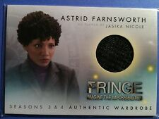 Fringe seasons 3 & 4 Wardrobe costume card M3 Jasika Nicole - Astrid Fransworth