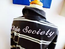 LA MARTINA ♛ Langarmshirt Sweatshirt Poloshirt Rugbyshirt braun S 164 170 TOP