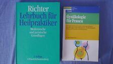 2 Bücher Lehrbuch für Heilpraktiker Medizin Urban Gynäkologie für Frau Buch H