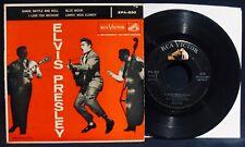 ELVIS PRESLEY~Rare Ep 45 & Cardboard Picture Sleeve-RCA VICTOR #EPA-830