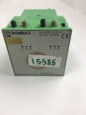 Phoenix Contact Interbus 2754448 IBS STME 24 BK-LK 2754448 Used