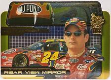 2002 Press Pass VIP Jeff Gordon Rear View Mirror Die Cut Card RV 5/6 NASCAR