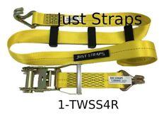 Just Straps® Car Transport Inline Strap 4 metre c/w Ratchet