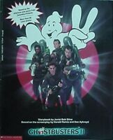 GHOSTBUSTERS II MOVIE STORYBOOK,1989 (BILL MURRAY, DAN AYKROYD, SIGOURNEY WEAVER