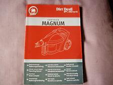 """Dirt Devil Royal CENTRIXX Magnum """"BEDIENUNGSANLEITUNG""""  in 12 Sprachen"""