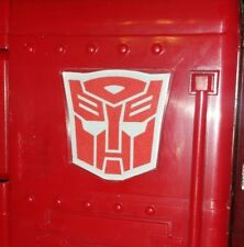 Autobot Logo Emblem for Lewin 71cm MP10 Optimus Prime - METAL Custom - WORLDWIDE