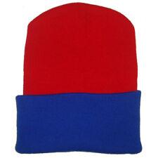 Bronx Winterwear Cold Weather Headwear Beanie Cap Woolly Warm Hat Red-royal dd9ce7908b9