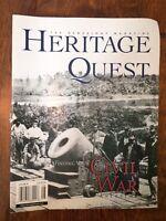 HERITAGE QUEST MAGAZINE GENEALOGY  July Aug 2000 Finding Civil War Ancestors