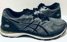 Asics T802N (4E) GEL-Nimbus 20 Black/Silver/Carbon T802N Mens Sz 10.5 Wide