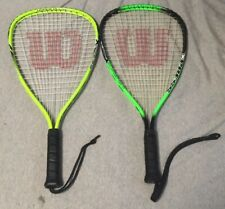 Wilson Racquetball Set Hyper Alloy & Titanium Plus Extras