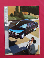 Renault 9 UK Market Sales Brochure 1986 TC TL GTL Auto TD & Turbo