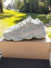 Clean Adidas Yeezy Boost 500 Salt Desert Kanye West White Khaki EE7287 Size 11