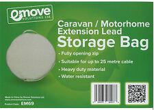 Mains Hook up Lead Storage Bag for 25m Hook up Cable Caravan X 1 – EM69