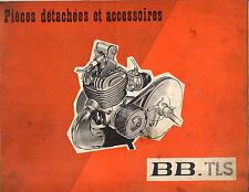 Catalogue de pieces détachées PEUGEOT BB TLS mobylette 1964