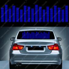 Sound Activated Car Music Rhythm LED Flash Light Sticker Sound Equalizer 90*25