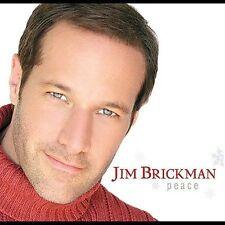 Peace by Jim Brickman (CD, Sep-2003, Windham Hill Records) Christmas Rock