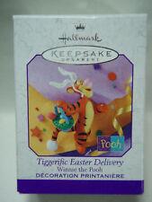 1999 Hallmark Tiggerific Easter Deilvery Tigger Winnie