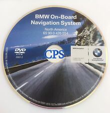 05 06 BMW E46 3-Series M3 Coupe Convertible Navigation DVD CD # 554 Map © 2007.2