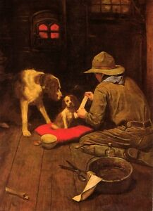 Norman Rockwell BSA Boy Scout Print A GOOD SCOUT 1925