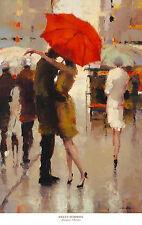 Sweet Surprise by Lorraine Christie Art Print Couple Kiss Romantic Poster 24x38