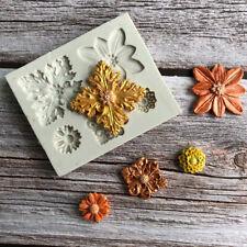 Fondant Decor Silicone Soap Craft Flower/Tip/Fence Mould DIY Cake Sugar Mold