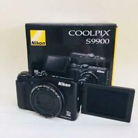 Nikon digital camera COOLPIX S9900 optical 30 times the 16.05 million-pix USED