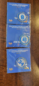 UCLA BRUINS RETIRED NUMBERS COIN LOT OF 3 TROY AIKMAN JACKIE ROBINSON CAMERON