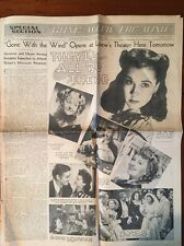 1940 St Louis Newspaper-Special Section, GONE WITH THE WIND OPENING TOMORROW