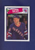 Chris Nilan 1988-89 O-PEE-CHEE OPC Hockey #31 (MINT) New York Rangers