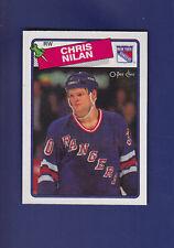 Chris Nilan 1988-89 O-PEE-CHEE Hockey #31 (MINT)