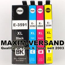 4 Cartouches Pour Epson 35 XL Workforce Pro wf-4700 wf-4720 wf4725 wf-4730 wf-4735