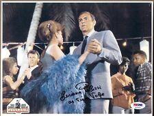 LUCIANA PALUZZI as FIONA SIGNED 8X10 PHOTO 4 JAMES BOND THUNDERBALL SEAN CONNERY