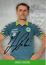 Janos Radoki (Greuther Fürth) - 2016/2017 - Neu in Winterpause - 16/17