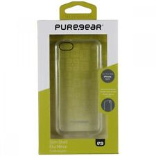 Puregear Apple iPhone SE 5 5S Slim Shell Case Cover Clear W/ Matte Clear Trim