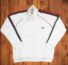 Gucci Jersey Zip-up Sweatshirt with Web