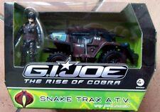 G.I.JOE - GIJOE - GI JOE - THE RISE OF COBRA - SNAKE TRAX A.T.A.V.  - HASBRO