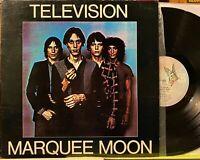 Rare OG Japan Pressing LP TELEVISION Marquee Moon ♫ Elektra 1977 Post Punk CBGB