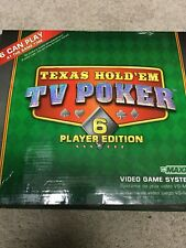 Texas Hold'em TV Poker 6 Player Edition (VS MAXX Video Game System)