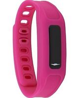 NEW AVIA Touch Bluetooth Acitivity Tracker Bracelet Pink & Black Bands
