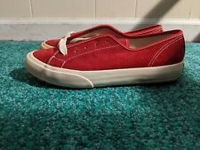 Vintage Gap Classic Suede  Shoes Red