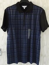 "CALVIN KLEIN ~ SHORT SLEEVED POLO SHIRT / TOP ~ LARGE 42"" ~PURE QUALITY ~  BNWT"