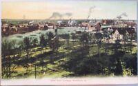 Rockford, IL 1905 Postcard: Birdseye View from College - Illinois Ill